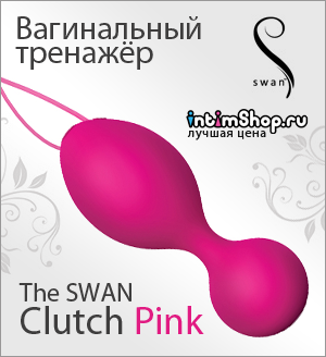 The SWAN Clutch Pink