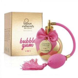 Bijoux Indiscrets Увлажняющий спрей для тела Bubble Gum Body Mist, 100 мл