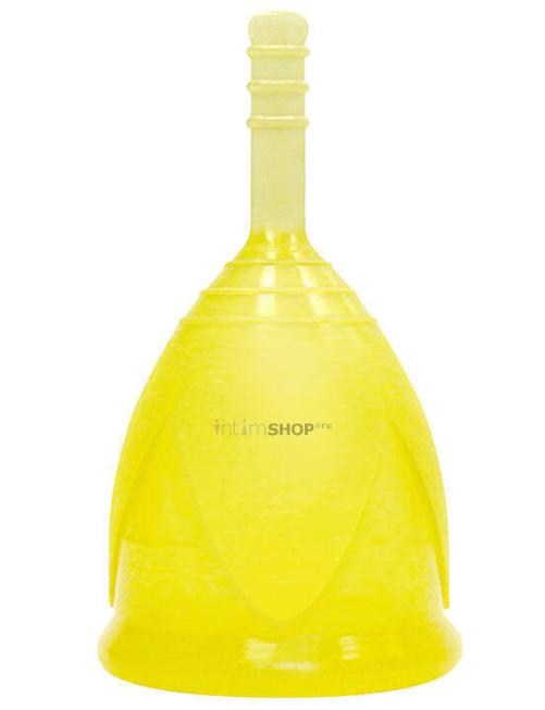 Менструальная чаша Тюльпан, L, жёлтая