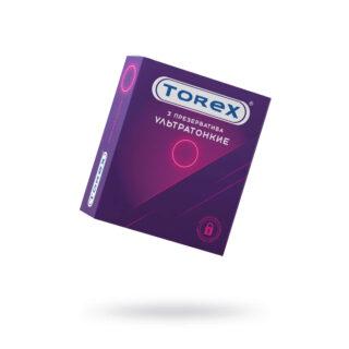 Презервативы ультратонкие Torex №3