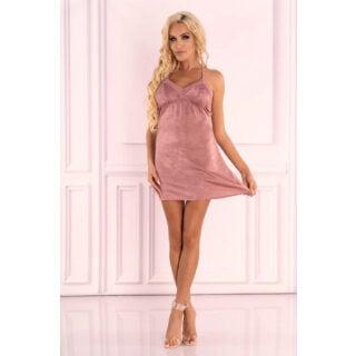 Сорочка LivCo Corsetti Fashion LC 90593 Ressia koszula, Розовый, S/M