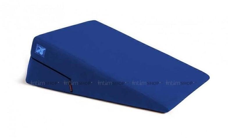 Liberator Retail Ramp Подушка для любви большая, синяя микрофибра