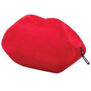 Подушка для любви Liberator Kiss Wedge, красная микрофибра