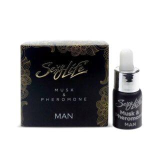 Концентрированные феромоны с мускусом Musk&Pheromone 5мл мужские