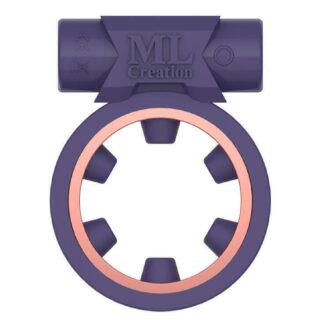 Виброкольцо эрекционное ML Creation Magic Ring, фиолетовый