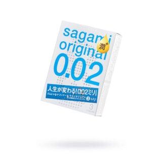 Презервативы полиуретановые Sagami Original 002, 3 шт