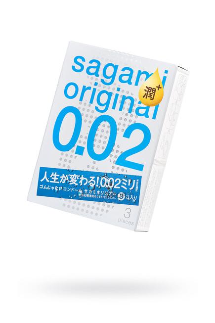 Презервативы полиуретановые Sagami Original 002 3 шт