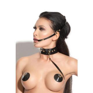 Уздечка декоративная Me Seduce Queen of hearts, черная, OS