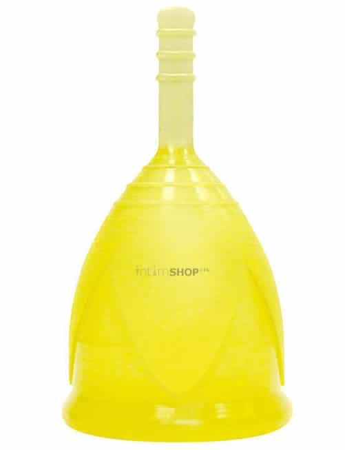 Менструальная чаша Тюльпан, S, жёлтая