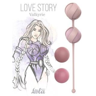 Набор сменных вагинальных шариков Lola Games Love Story Valkyrie, розовый