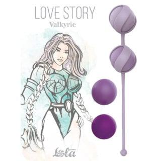 Набор сменных вагинальных шариков Lola Games Love Story Valkyrie, фиолетовый