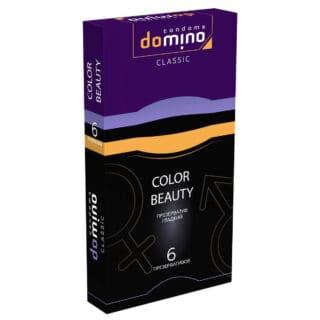 Презервативы цветные Domino Classic Colour Beauty, 6 шт