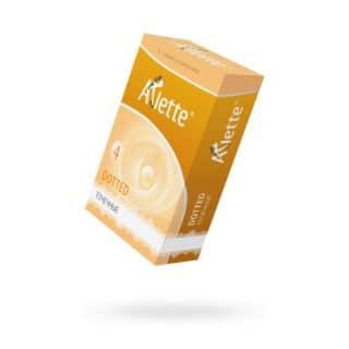 Презервативы Arlette Dotted Точечные, 6 шт.