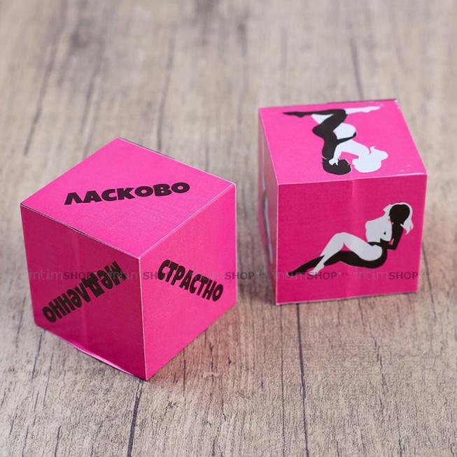 Кубики для любовных игр «Девушки» 2 шт.
