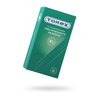 Презервативы увеличенного размера Torex №12