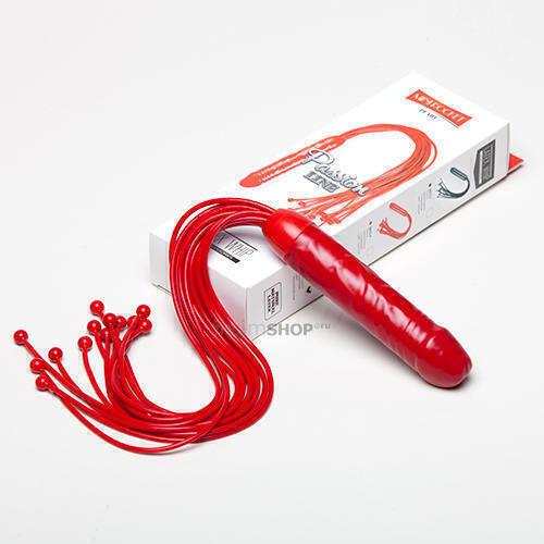 Плеть из латекса Мини-Ракета #6013, красная