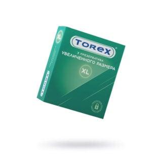 Презервативы увеличенного размера Torex №3