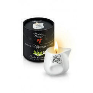 Свеча с массажным маслом Concorde Plaisirs Secrets Белый чай, 80 мл
