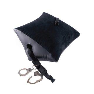 Подушка для любви с манжетами Pipedream Deluxe Position Master, черный
