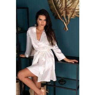 Пеньюары LivCo Corsetti Fashion LC 90520 Edelina szlafrok Pearl, Бежевый, XL