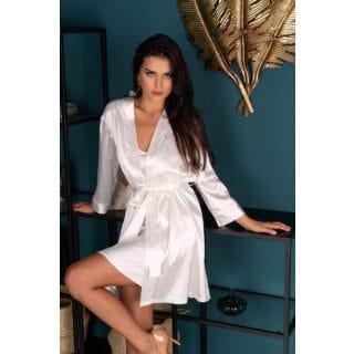 Пеньюары LivCo Corsetti Fashion LC 90520 Edelina szlafrok Pearl, Бежевый, XXL