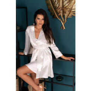 Пеньюары LivCo Corsetti Fashion LC 90520 Edelina szlafrok Pearl, Бежевый, L