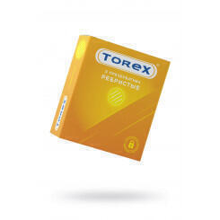 Презервативы ребристые Torex №3