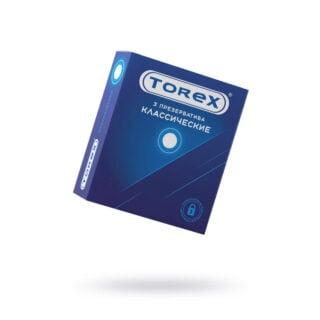 Презервативы классические Torex №3