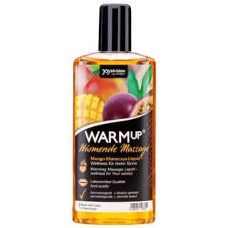 Разогревающий массажный гель Joy Division WARMup, манго и маракуйя, 150 мл