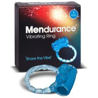 Эрекционное виброкольцо SO Divine Mendurance, синий