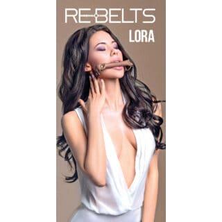 Кляп-трензель Lora Rebelts, коричневый