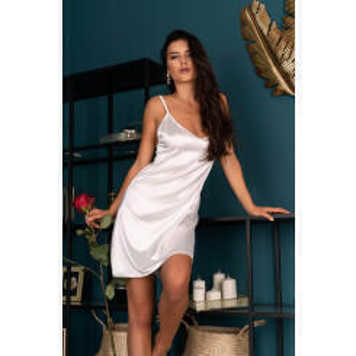 Сорочка LivCo Corsetti Fashion LC 90519 Mirdama koszula Pearl, Бежевый, S
