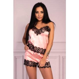 Пижама LivCo Corsetti Fashion LC 90556 Serranin komplet, Розовый, S/M