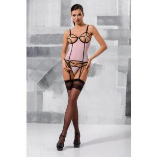 Корсеты Passion Lingerie Hera corset Light Pink, Розовый, L/XL