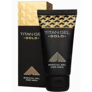 Гель для увеличения члена Titan Gel Gold Tantra, 50 мл