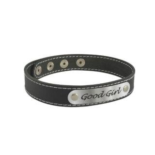 Чокер Sitabella с надписью Good Girl, черный