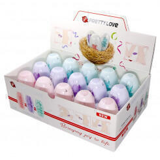 Набор мини мастурбаторов Pretty Love Fantastic Egg Hard Boiled, 15 шт
