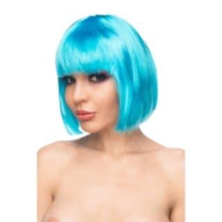 Парик Джага-Джага Сора, ярко-голубой