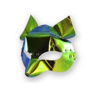 Маска Sitabella Лиса, голографическая, зеленый