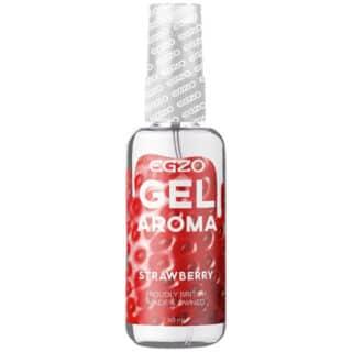 Оральный гель-смазка Egzo Aroma, на водной основе, клубника, 50 мл