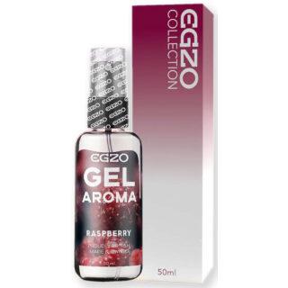 Оральный гель-смазка Egzo Aroma, на водной основе, малина, 50 мл