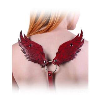 Портупея Подиум «Крылья», красный