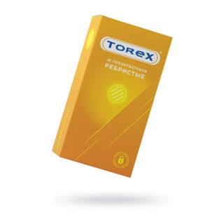 Презервативы ребристые Torex №12
