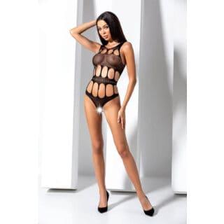 Боди Passion Erotic Line BS 083 Black, Чёрный, One size