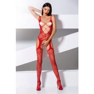 Боди Passion Erotic Line BS 075 Red, Красный, One size