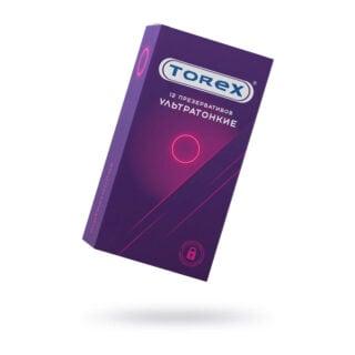 Презервативы ультратонкие Torex №12