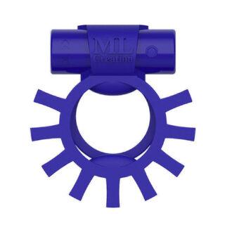 Виброкольцо эрекционное ML Creation Super Ring, синий