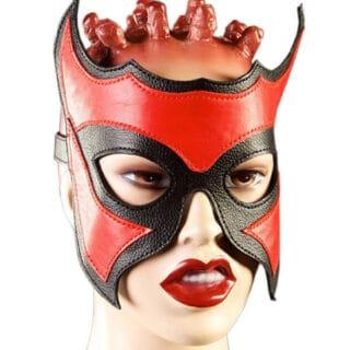 Очки-маска Подиум, красный