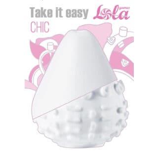 Мастурбатор Lola Games Take it Easy Chic, белый
