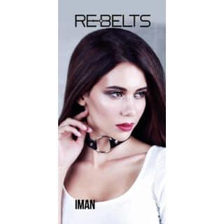 Чокер-кляп Iman Rebelts, черный, OS